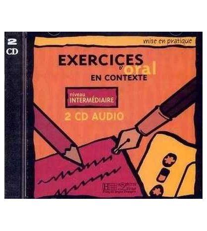 Exercices Oral Contexte Intermedio cd audio