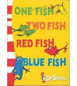 Dr Seuss : One Fish Two Fish red Fish Blue fish PB
