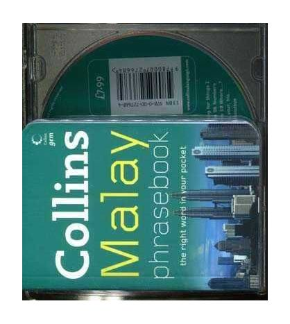 Collins Gem Malay Phrase Book and CD