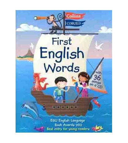 First English Words + 36 Songs on a CD