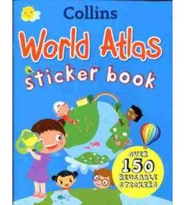 World Atlas ( Stiker Book )