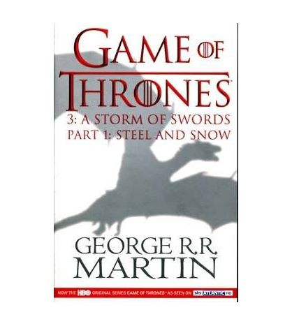 Song of Ice & Fire 3 : Storm of Swords V.1 : Steel And Snow PB