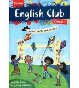 Collins English Club 1 + Cd rom + stickers