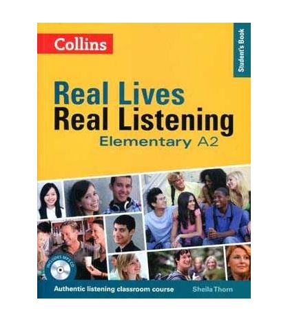 Real Lives : Real Listening A2 + Cd Audio