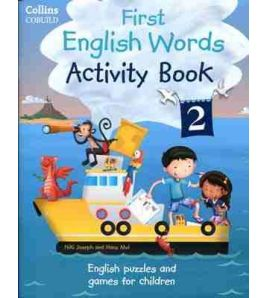 First English Words Activity Book 2