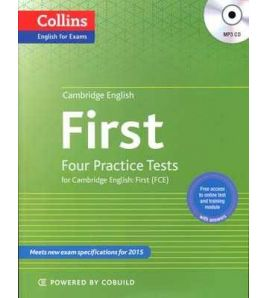 Cambridge English : First: Four Tests w/k + Cd mp3