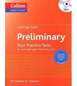 Cambridge English Pet : Four Tests c/k + Cd mp3
