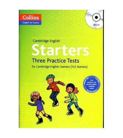 Cambridge English Starters Three practice Tests + Cd MP3