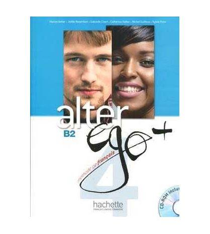 Alter Ego Plus 4 B2 eleve + cd rom