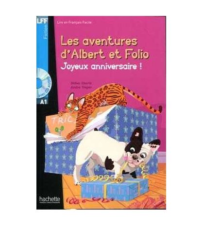 Les Aventures d´ Albert et Folio Joyeux anniversaire + Cd A1