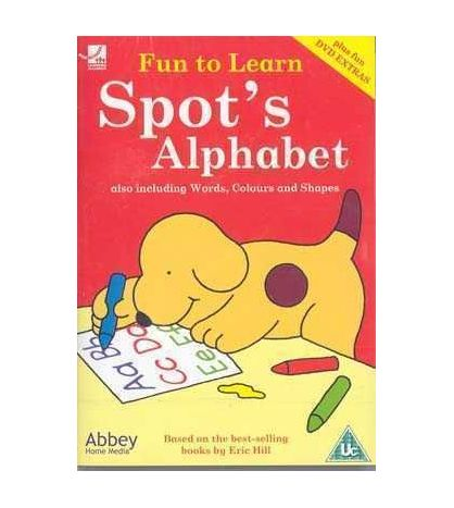 Fun to Learn : Spots Alphabet DVD (infantil)
