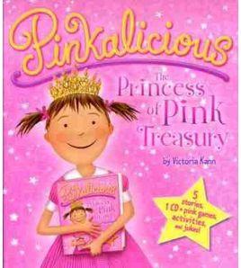 Pinkalicious: The Princess of Pink Treasury + cd audio