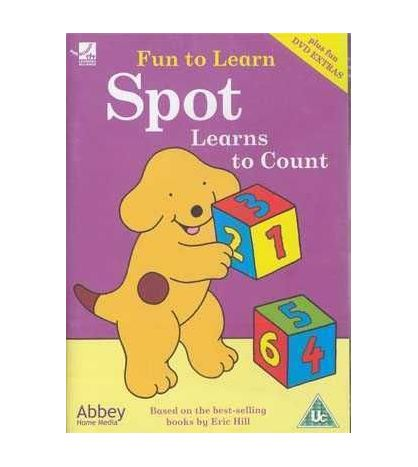 Fun to Learn : Spot Learns to Count DVD (infantil)