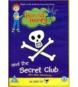 Horrid Henry and the Secret Club DVD