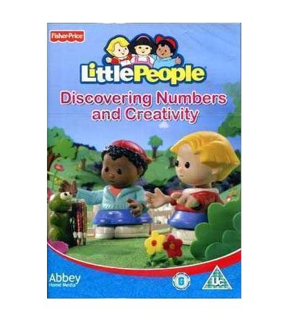 Little People: Discovering Numbers And Creativity DVD