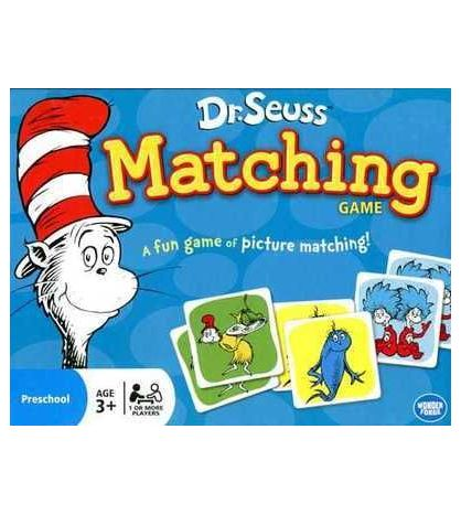 Matching Game Dr Seuss