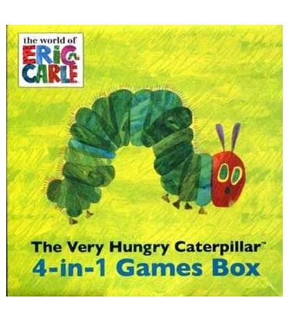 Very Hungry Catepilar Games Box 4 in 1