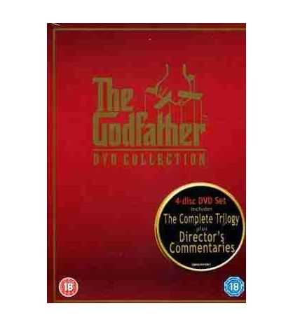 Godfather DVD Collection Complete Trilogy