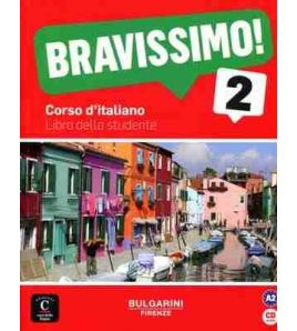 Bravissimo 2,A2 libro dello studente + cd audio
