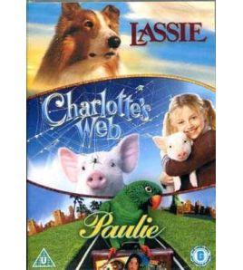 Lassie / Charlottes Web / Paulie DVD