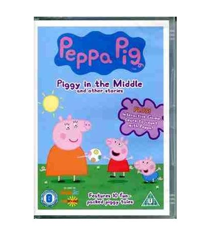 Peppa Pig in the Middle DVD Video