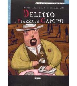Delitto in Piazza del Campo B1 libro + cd audio