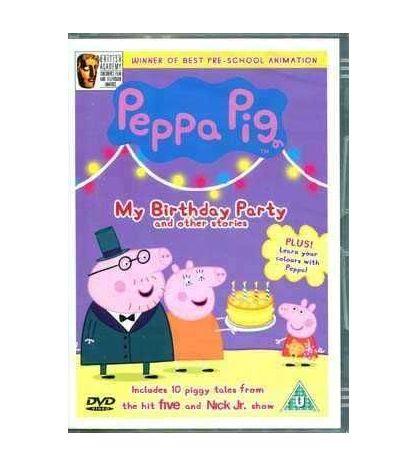 Peppa Pig : My Birthday Party DVD