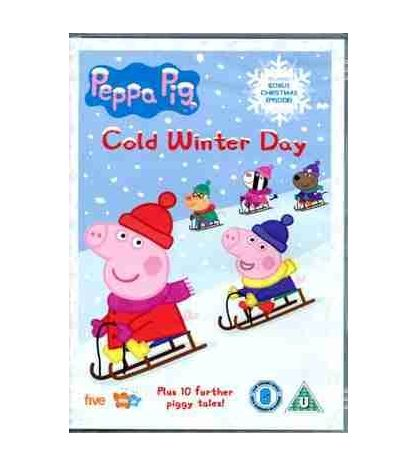 Peppa Pig Cold Winter Day DVD Video