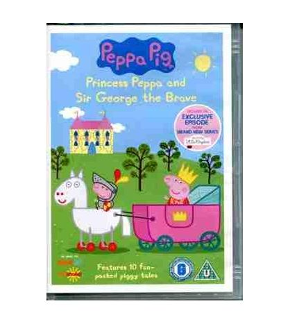 Peppa Pig and Sir George the Brave Video DVD