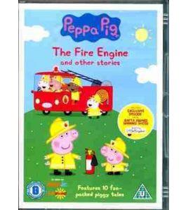 Peppa Pig Fire Engine Video DVD