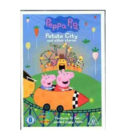 Peppa Pig Potato City and Other Stores DVD