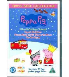 Peppa Pig Triple DVD Video