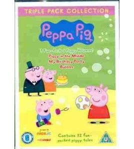 Peppa Pig Piggy in the Middle DVD ( 3 Disc )