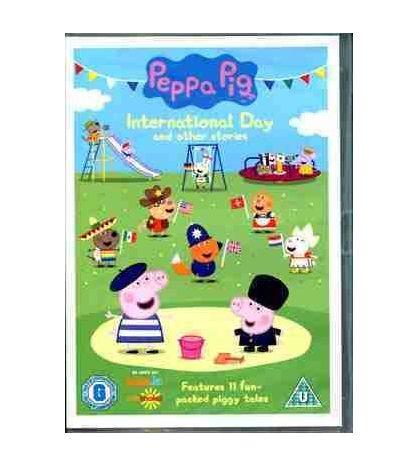 Peppa Pig International Day Video DVD