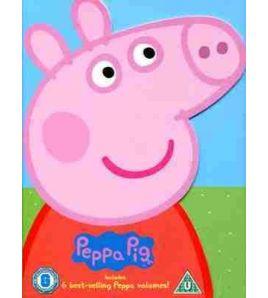 Peppa Pig Bestselling 6 DVD Video