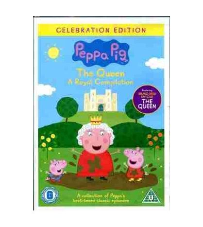 Peppa Pig A Queen Royal Compilation DVD