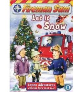 Fireman Sam DVD Let it Snow