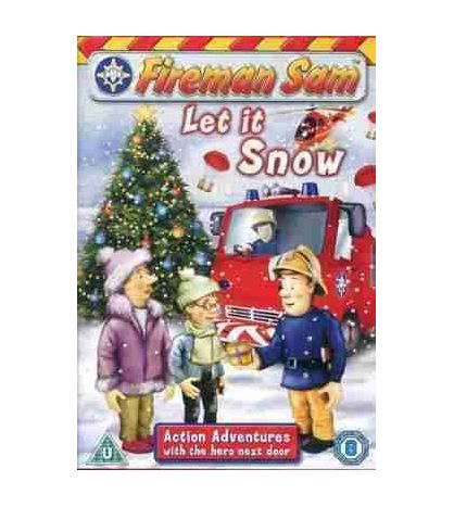 Fireman Sam DVD Let it Snow