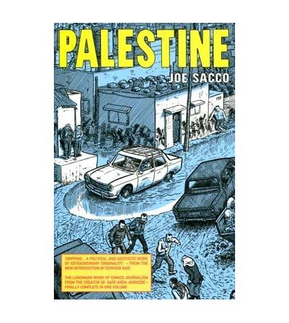 Palestine graphic Novel PB