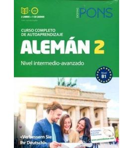 Curso Aleman 2 intermedio avanzado B1 + cd mp3+actividades online