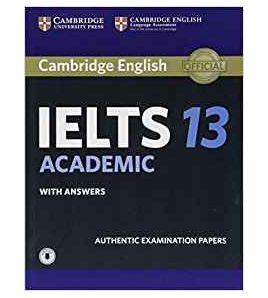 Cambridge IELTS 13 Academic + key+audio descargable