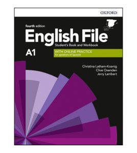 English File A1 Beginner  Pack Std+wb online+key 4 th