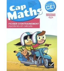 Cap Maths Ce1 Fichier + Cahier + Dico Maths
