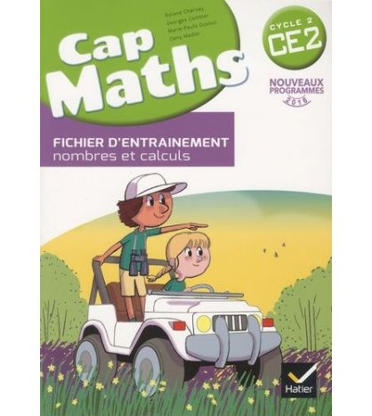 Cap Maths CE2 Cycle 2 ED 2016