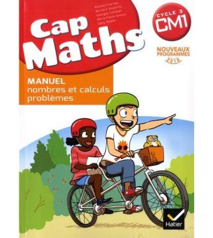 Cap Maths Cm1 Ed 2017 Livre Eleve + Cahier