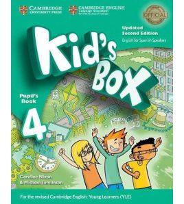 Kids Box 4 Pupil Books 2ed Spanish Updated  2017