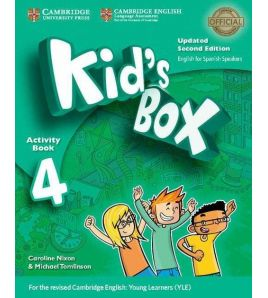 Kids Box 4 Activity Book 2ed Spanish Updated  2017