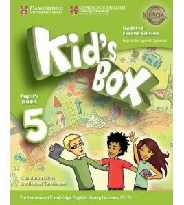 Kid's Box 5 Pupil Books 2ed Spanish Updated 2017
