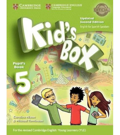 Kids Box 5 Pupil Books 2ed Spanish Updated  2017