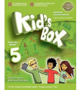 Kids Box 5 Activity Book 2ed Spanish Updated 2017